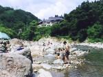 切明温泉(雄川閣、雪あかり、切明リバーサイドハウス)