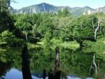 鳥甲山と天池