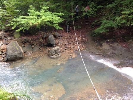 003 檜俣川 渡渉箇所